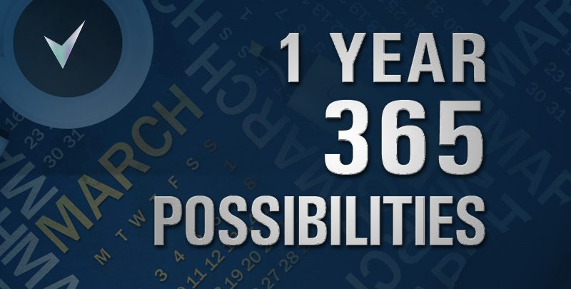 One Year 365 Possibilities