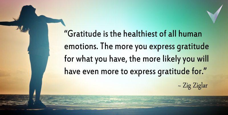 Zig Ziglar Gratitude Quote